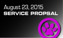 August Service Proposal
