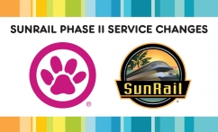 Sunrail Phase II Service Changes Image