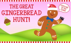 Let the Gingerbread Hunt Begin Image