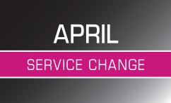 April 29 Service Change Image