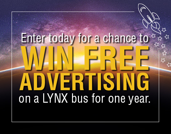 Enter for your chance to win free advertising for one year with LYNX