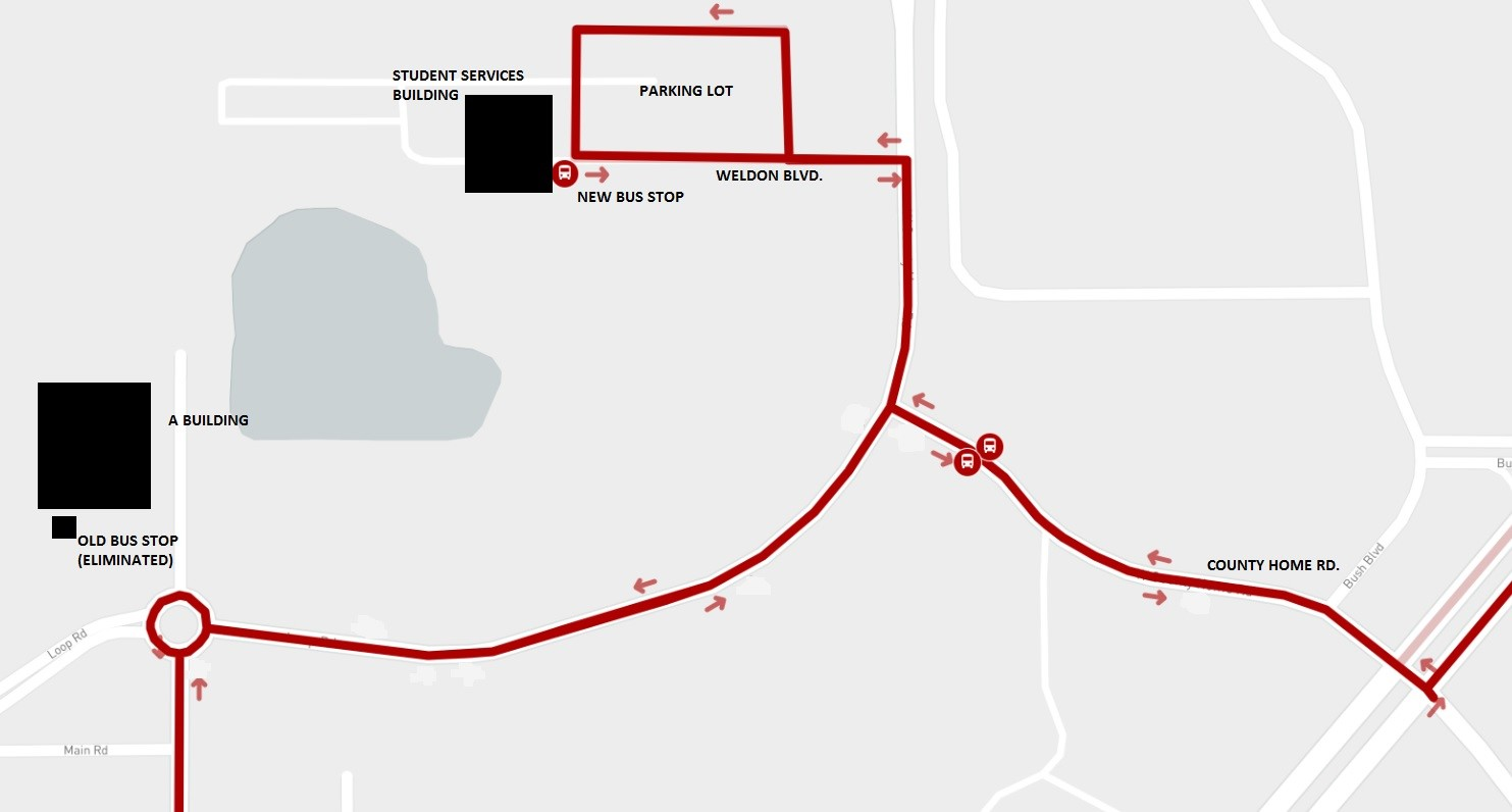 Seminole State College Sanford Lake Mary Campus Stop Relocation